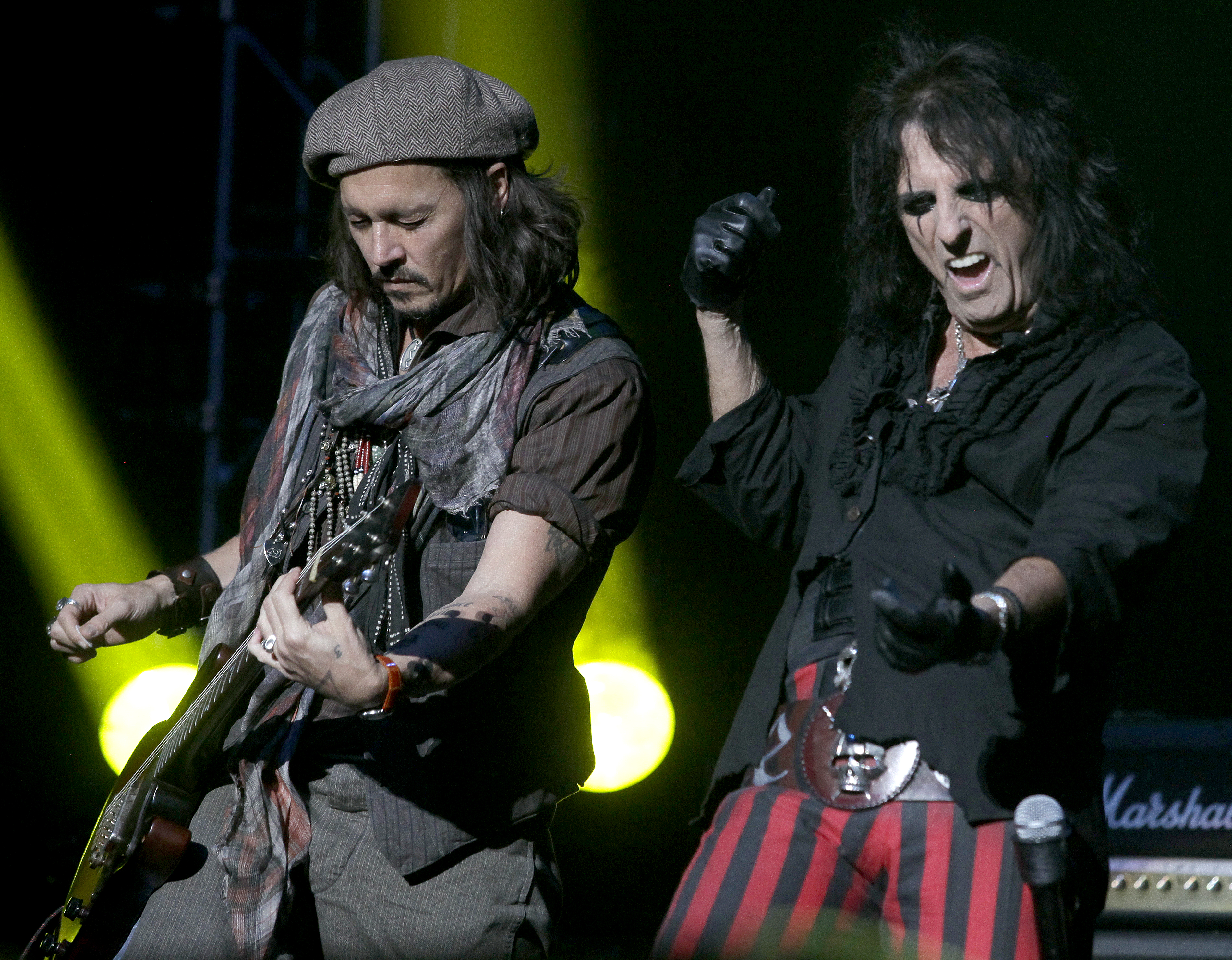 Alice Cooper and Joe Perry on Hollywood Vampires' Drunk History
