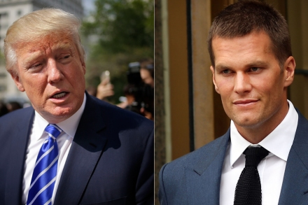 38190e61 Tom Brady Says a Donald Trump Presidency 'Would Be Great' – Rolling ...