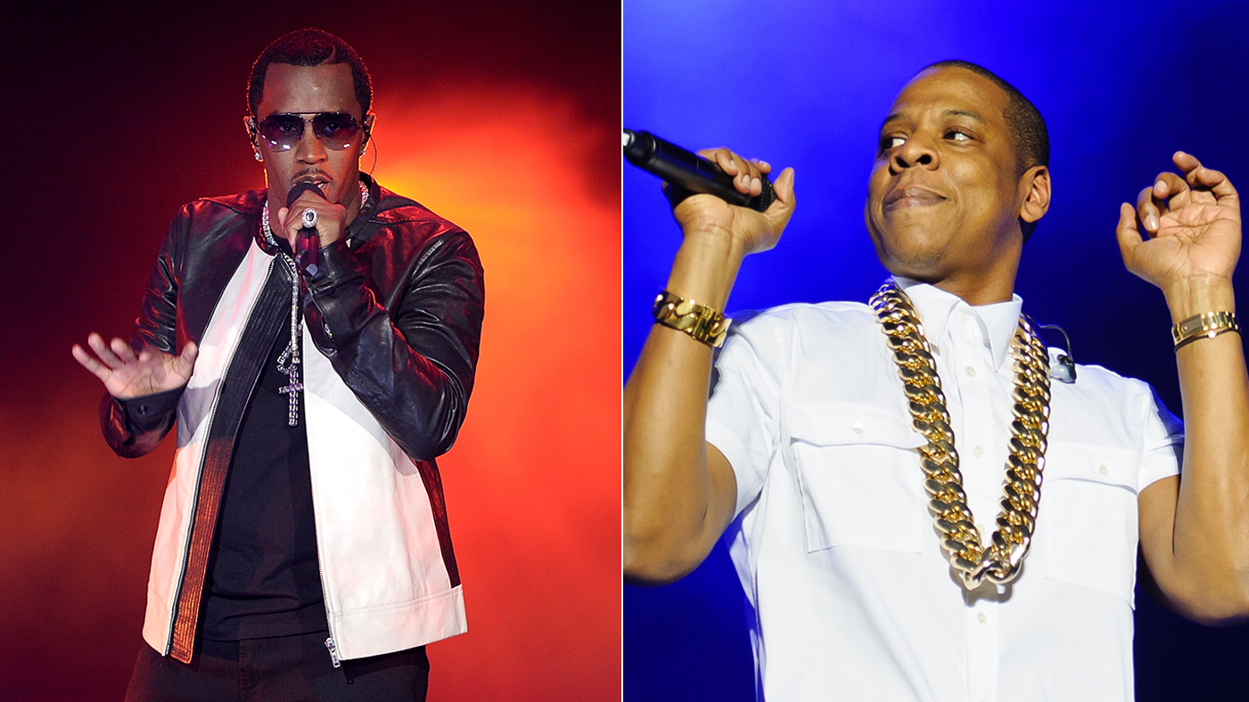 c0aba8e8ca5e Diddy and Jay Z topped a recent poll of hip-hop s biggest earners of the  past year