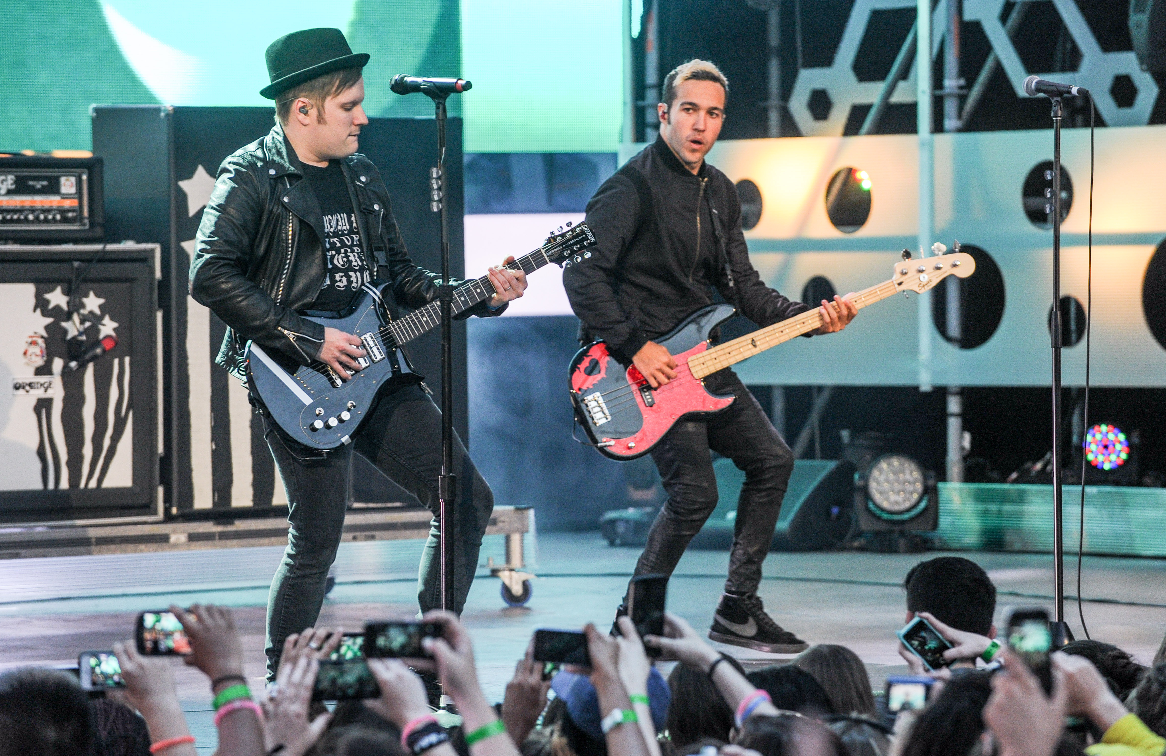 fall out boy plot wintour trek with awolnation rolling stone