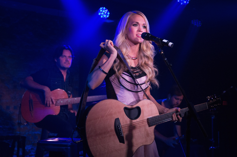 Hear Carrie Underwood's New Bad-Girl Rocker 'Renegade Runaway'