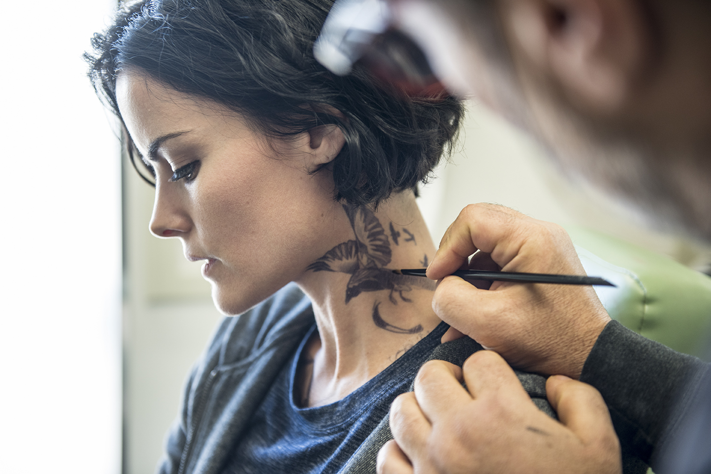 Tattoo You Our Exclusive Behind The Scenes Blindspot Gallery Rolling Stone