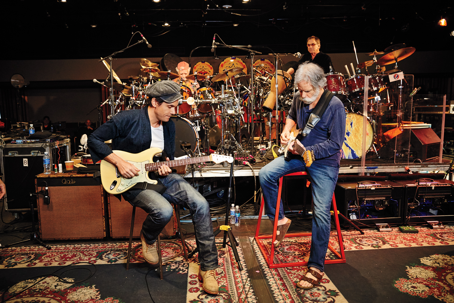 John Mayer and Grateful Dead's Bob Weir Talk Upcoming Dead & Company Tour