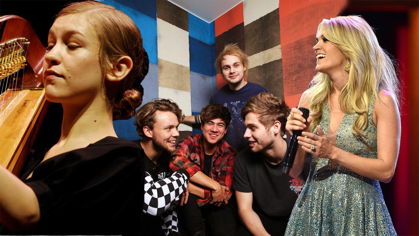 New Music Friday 5 Seconds Of Summer Joanna Newsom Carrie Underwood