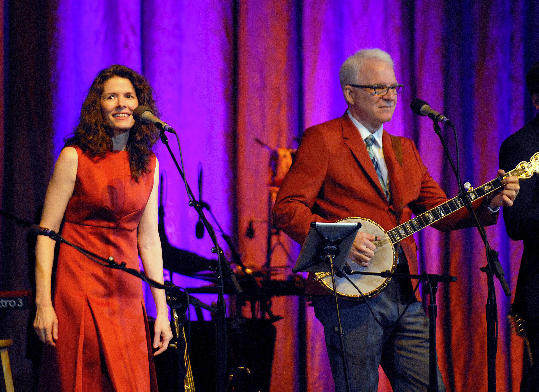 Steve Martin and Edie Brickell on New Album, Broadway Musical
