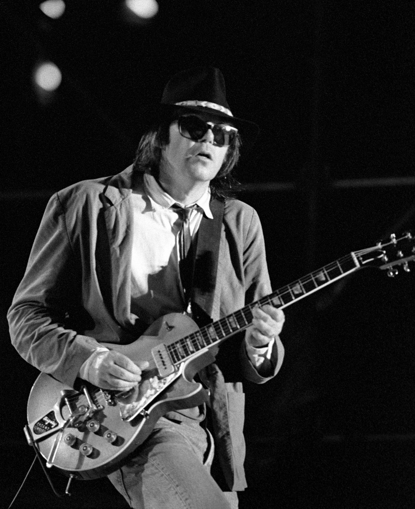 Hear Neil Young's Offbeat New Eighties Live Album