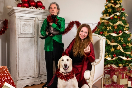 Christmas Parody.Hear Harry Shearer Jane Lynch Parody Over The Top Christmas