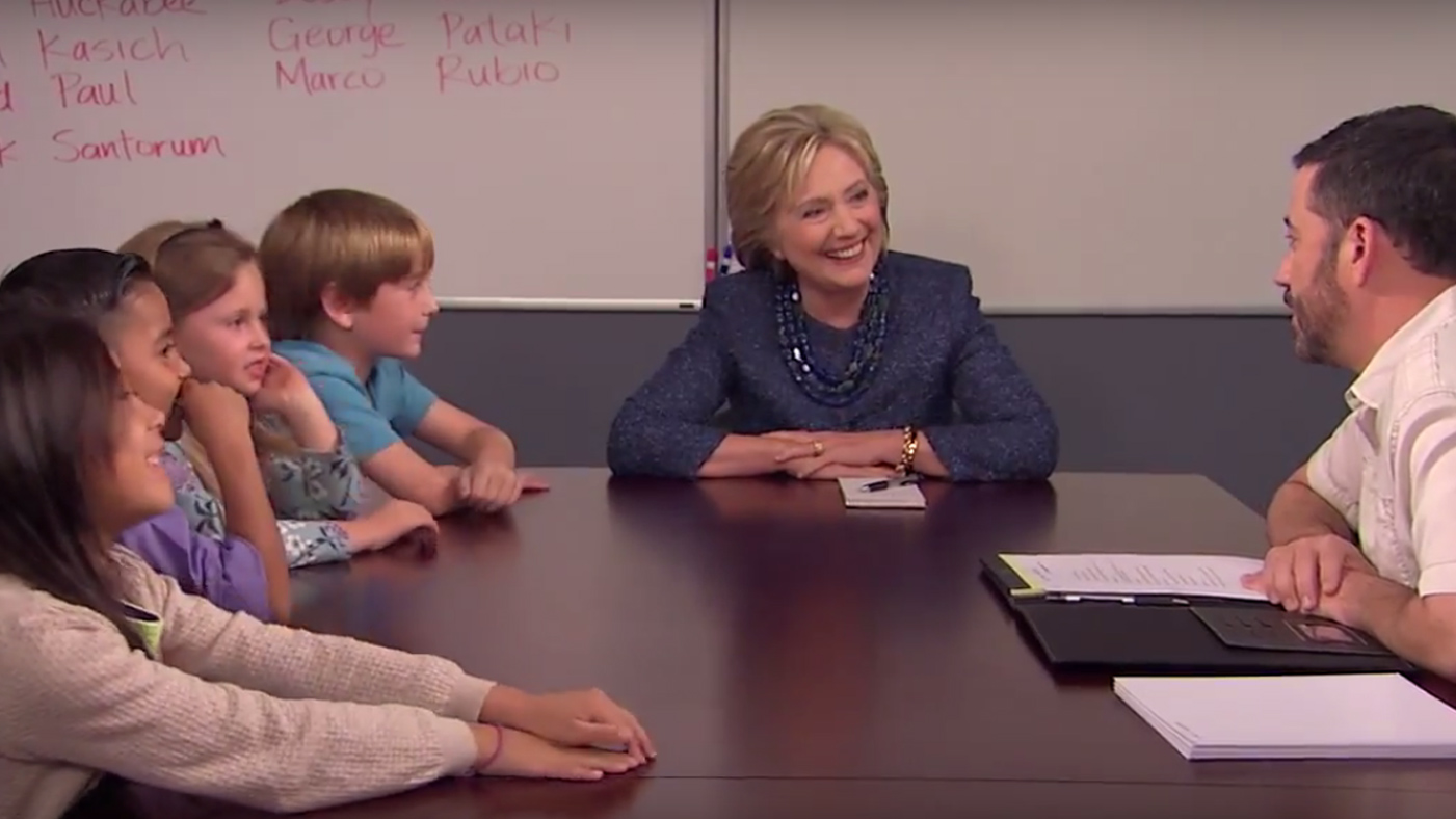 Watch Hillary Clinton School Kids Who Think Women Can't Be