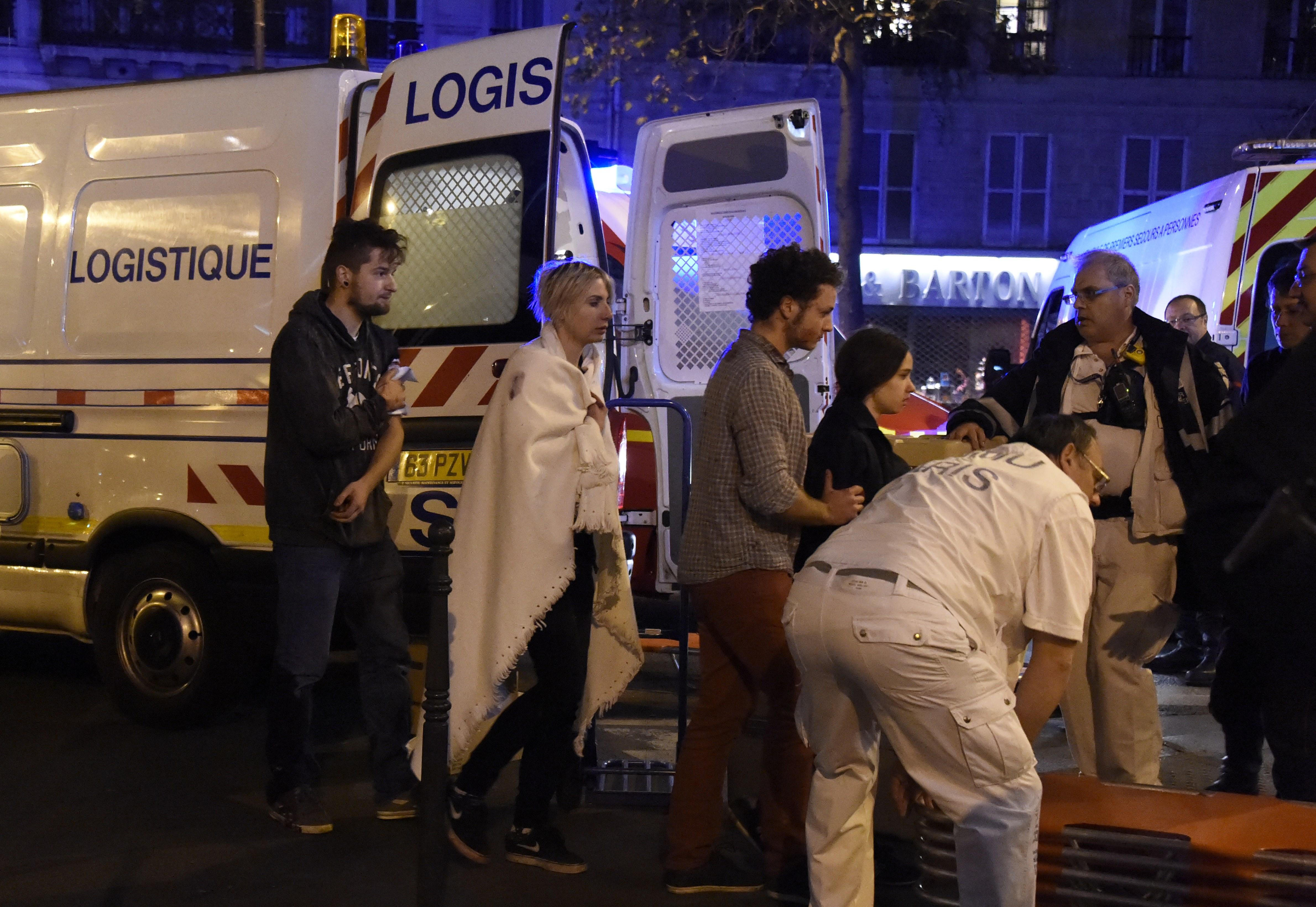 Nearly 100 Dead After Paris Concert Terrorist Attack