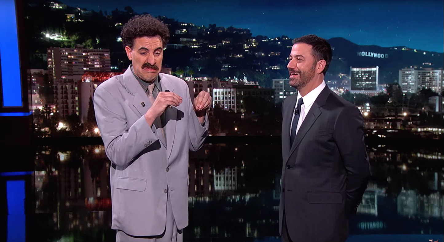 Borat will rent a house in Hollywood 11.10.2011 67