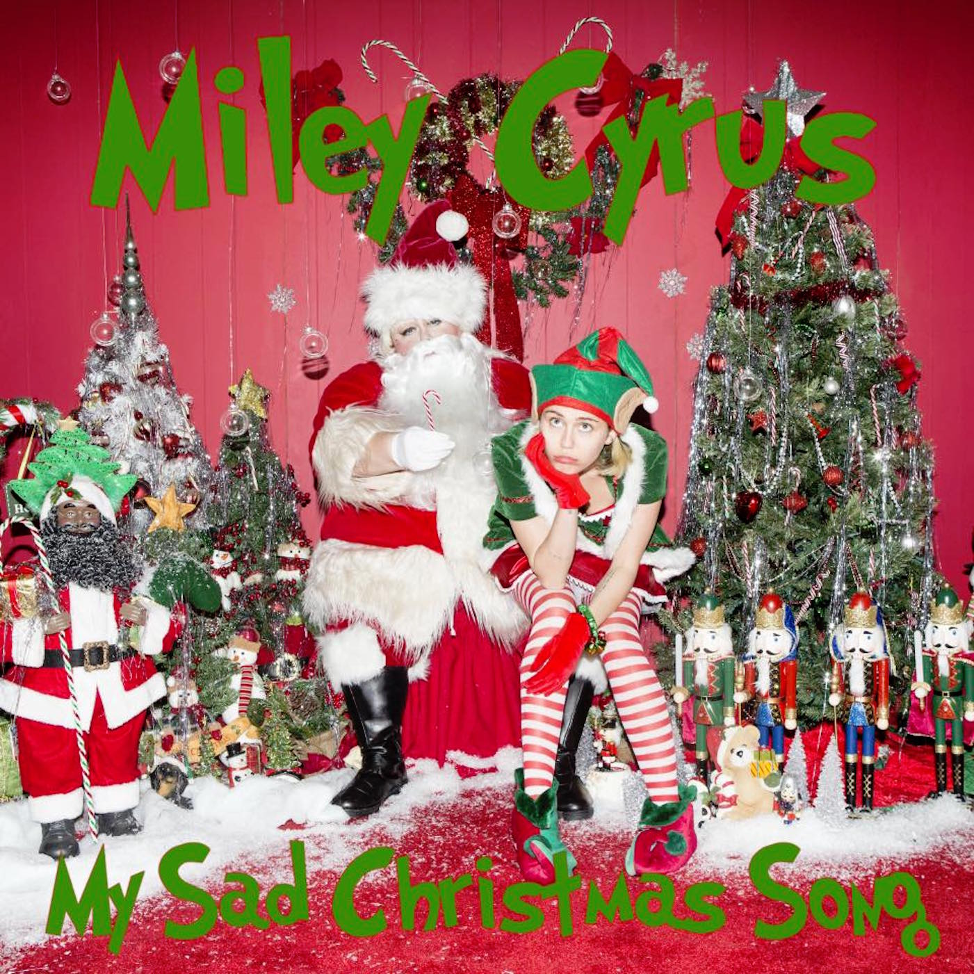 Hear Miley Cyrus and Flaming Lips' Moody 'My Sad Christmas Song' - Rolling Stone
