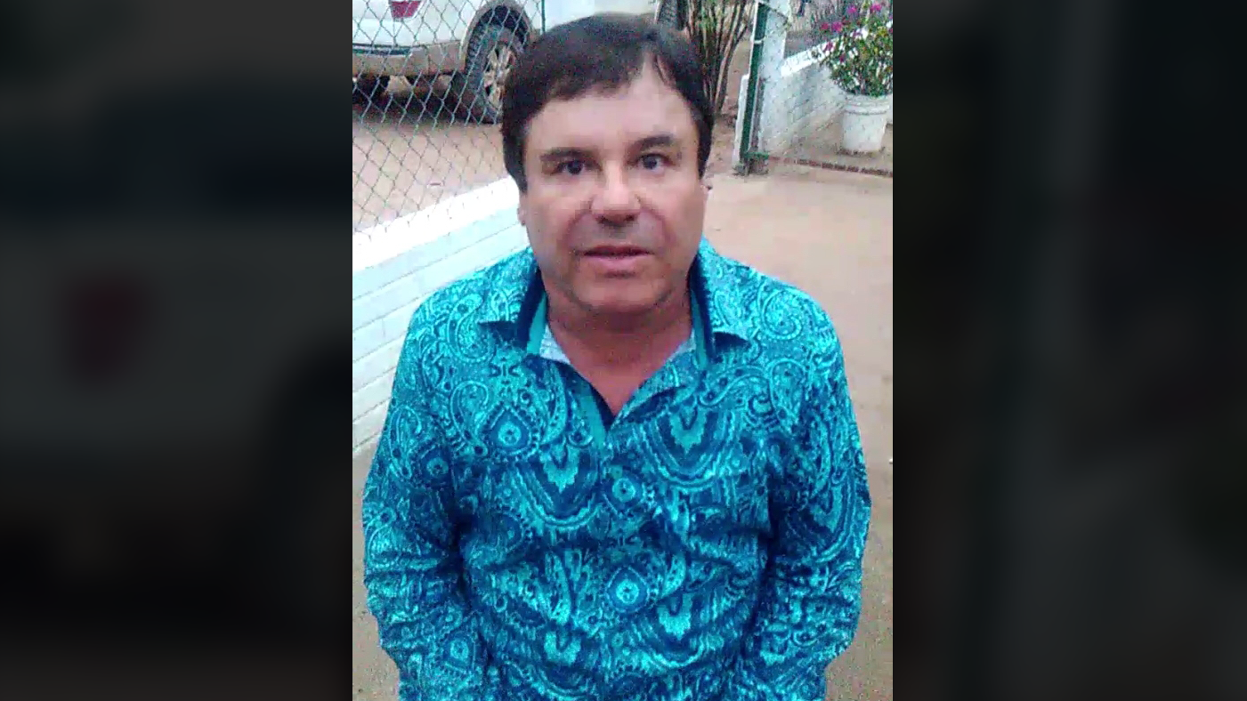 Joaquín Archivaldo Guzmán Loera, El Chapo, In A Video Interview He Sent  From An Undisclosed Location.