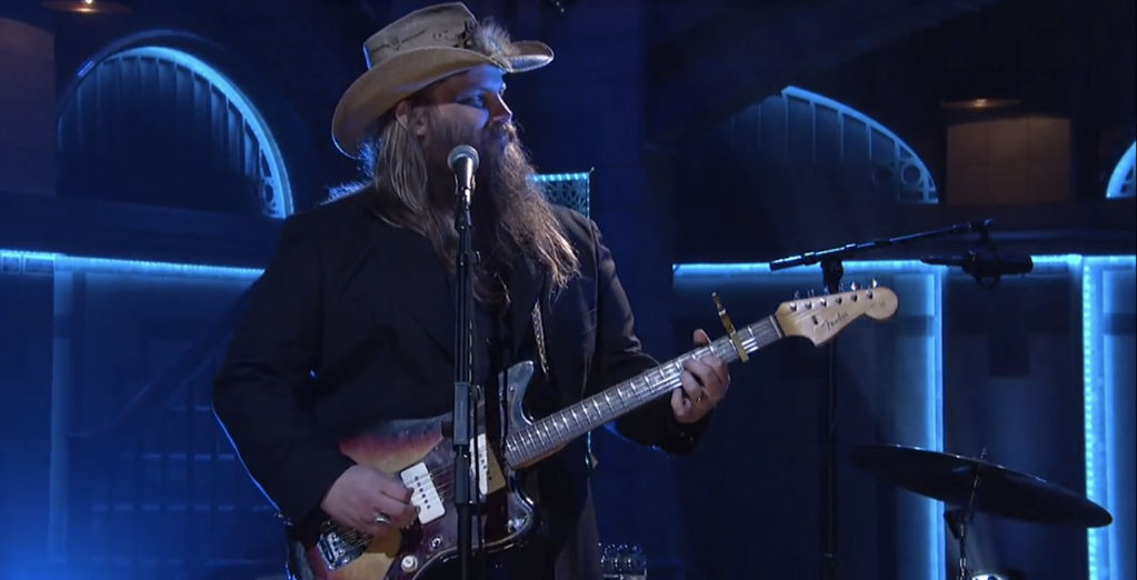 See Chris Stapleton Command 'SNL' With Bluesy 'Nobody to Blame'