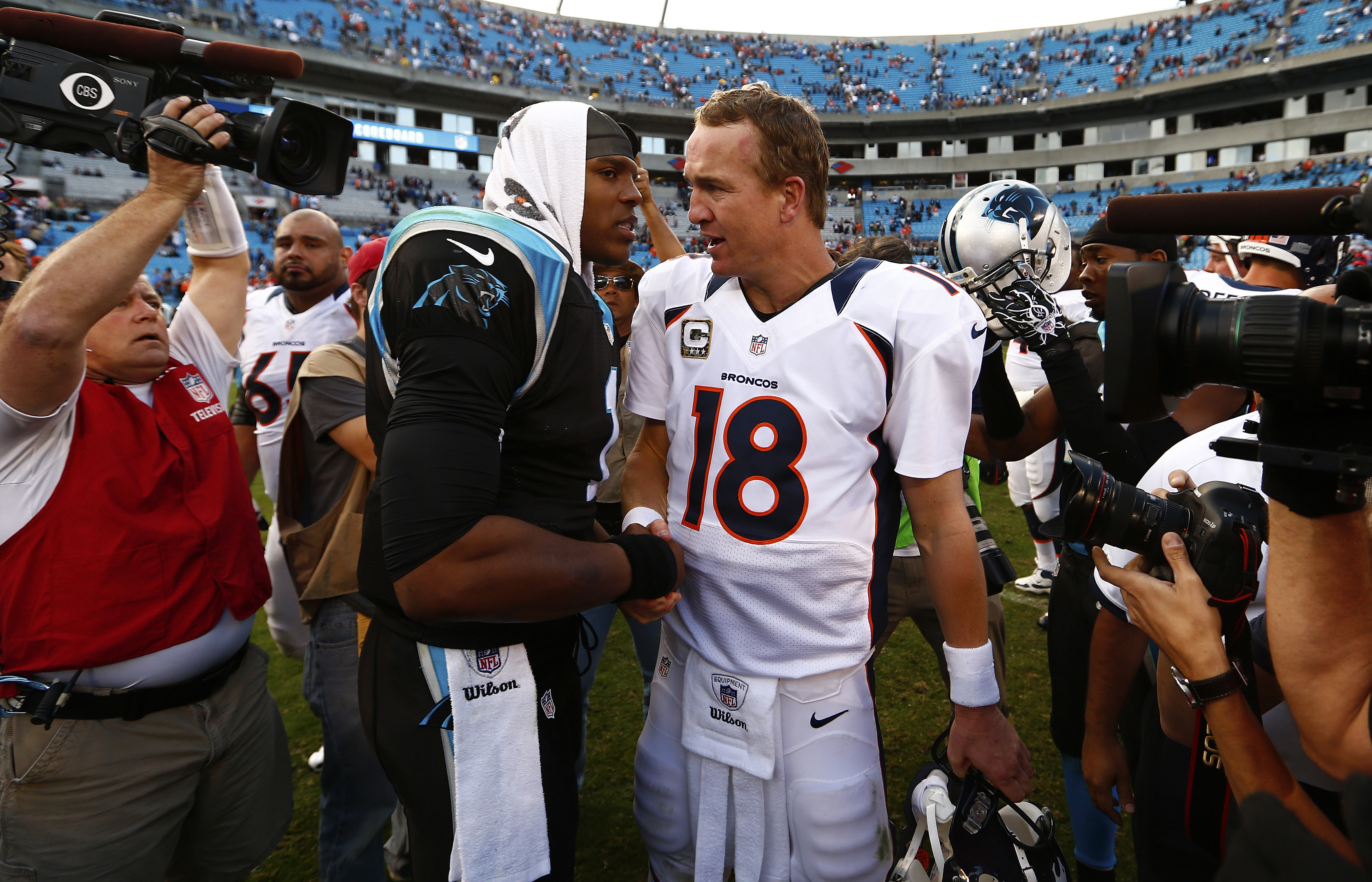 Super Bowl 50  Broncos and Panthers Battle for the Future of ... b43196125