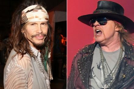 Steven Tyler Helped Convince Axl Rose to Reunite Guns N' Roses