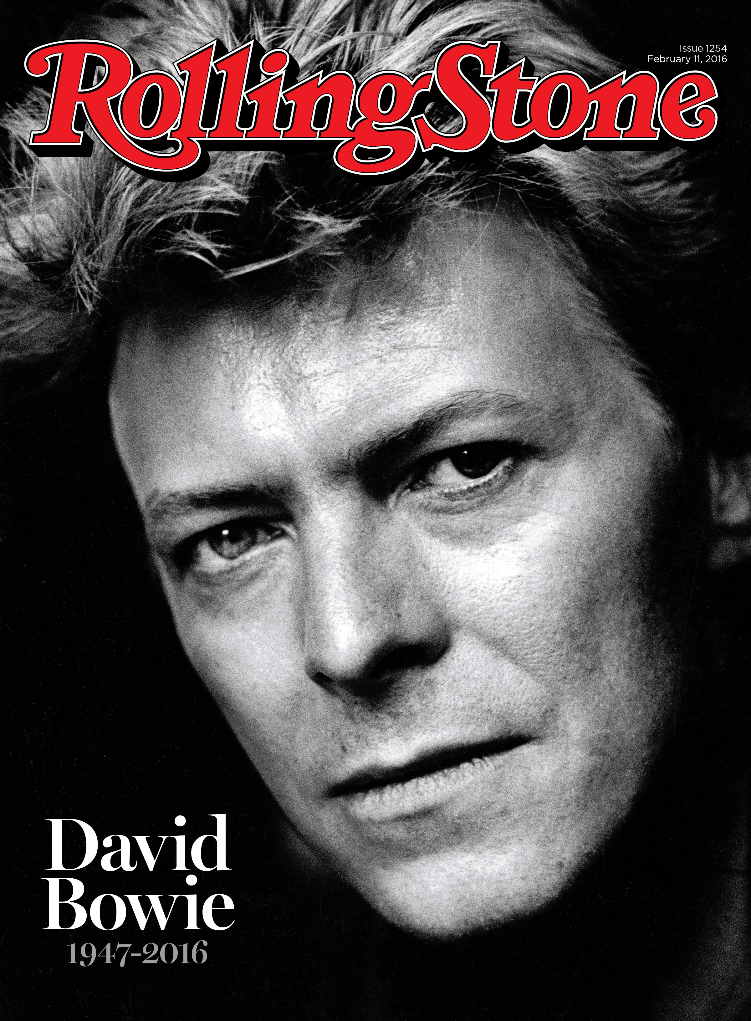 David Bowie; Rolling Stone Cover; Tribute; 2016