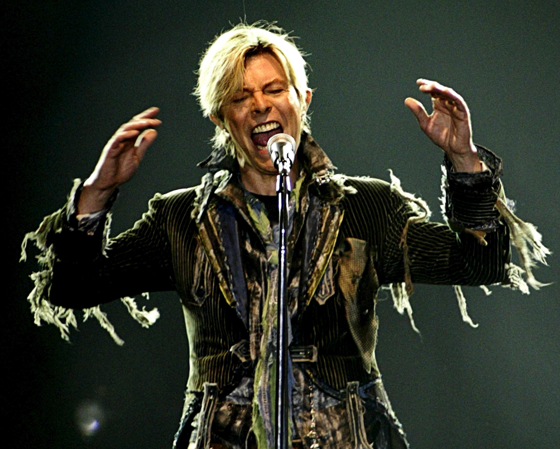 David Bowie; Reality Tour