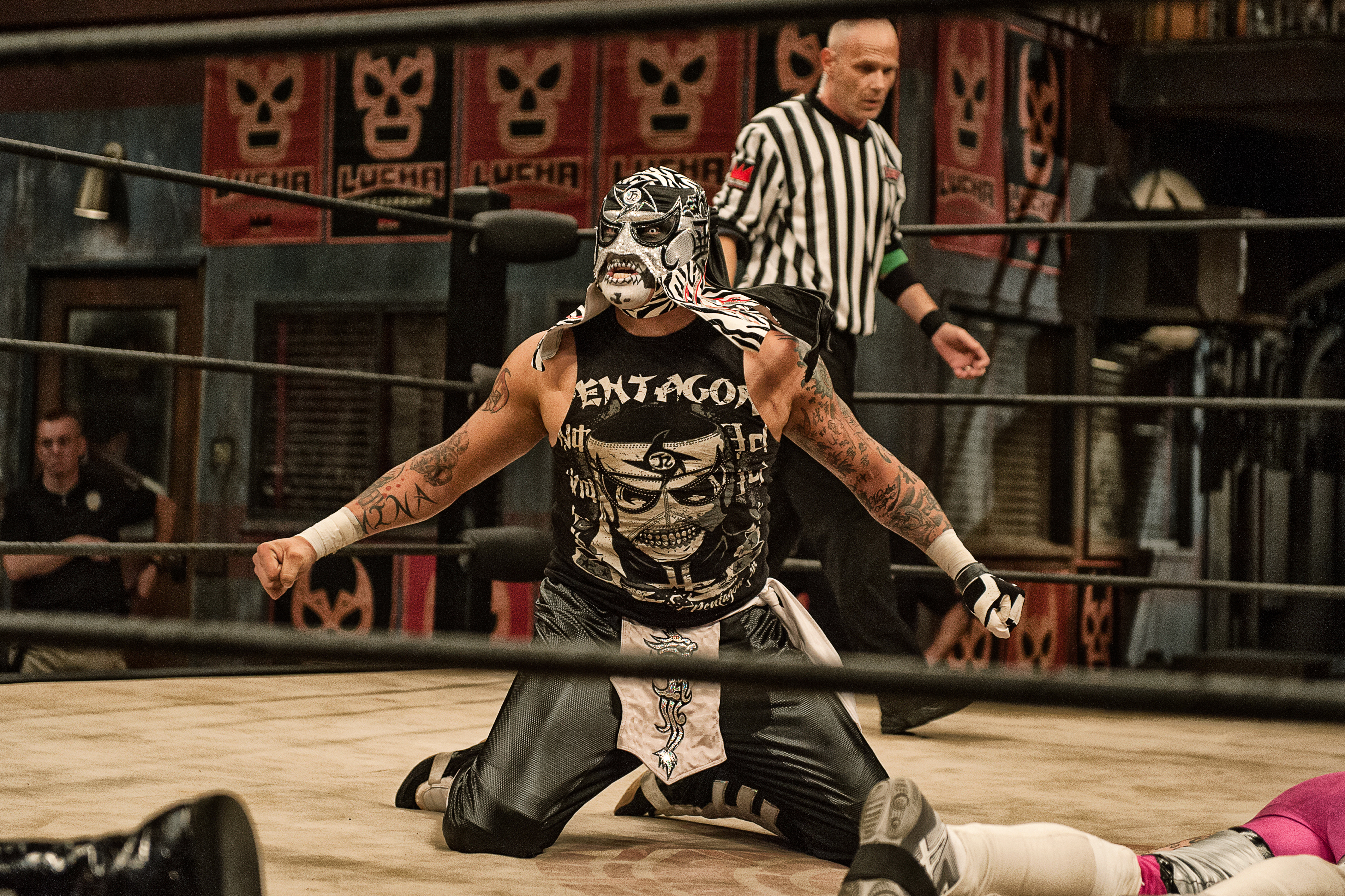 Pentagon Jr Lucha Underground S Bad Guy Is Out For Blood Rolling Stone