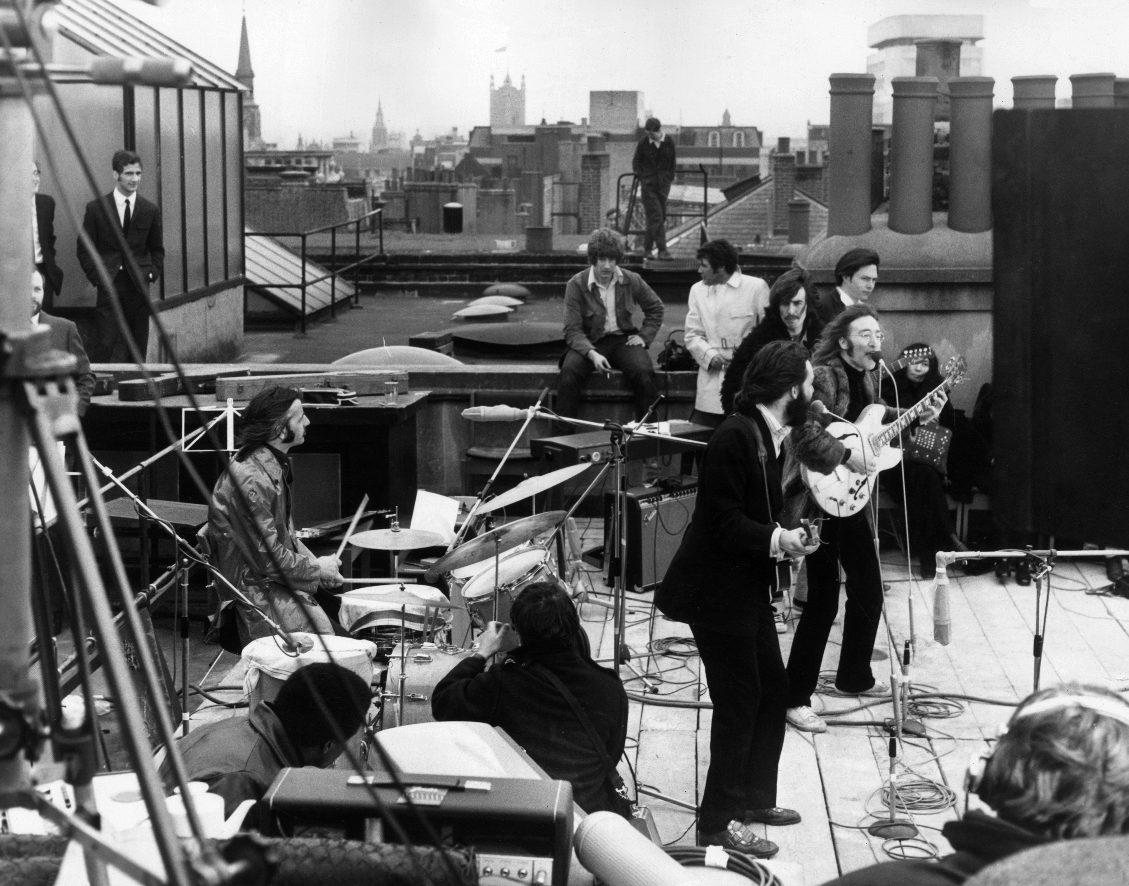 Beatles Famous Rooftop Concert 15 Things You Didnt Know Rolling