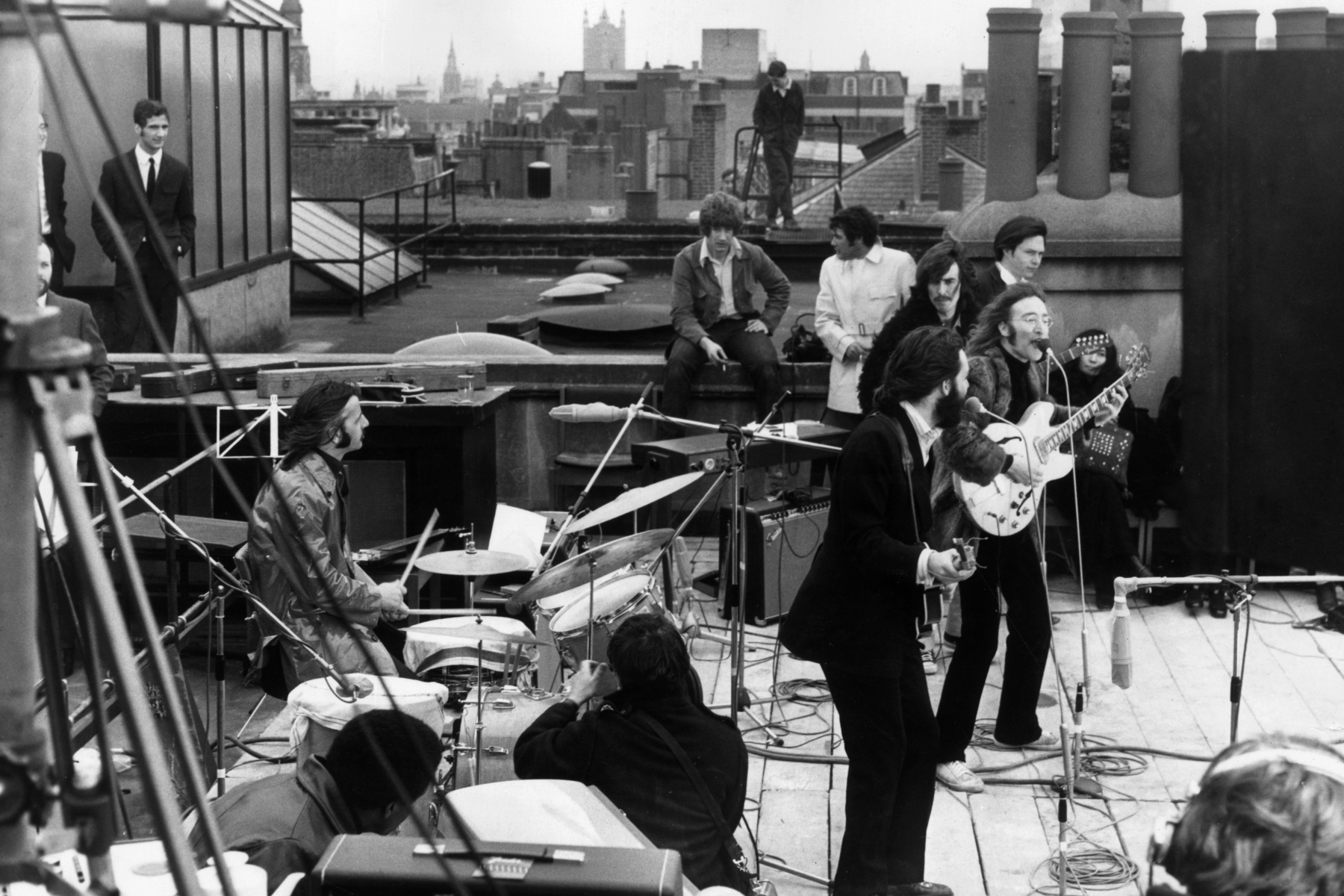 Rooftop; Beatles