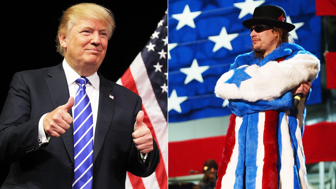 da4171bdf Kid Rock: 'I'm Digging Donald Trump' – Rolling Stone