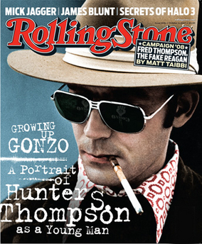 Image result for hunter s thompson rolling stone