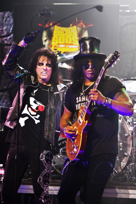 Alice Cooper Talks Guns N' Roses Reunion: 'Where's Izzy?'