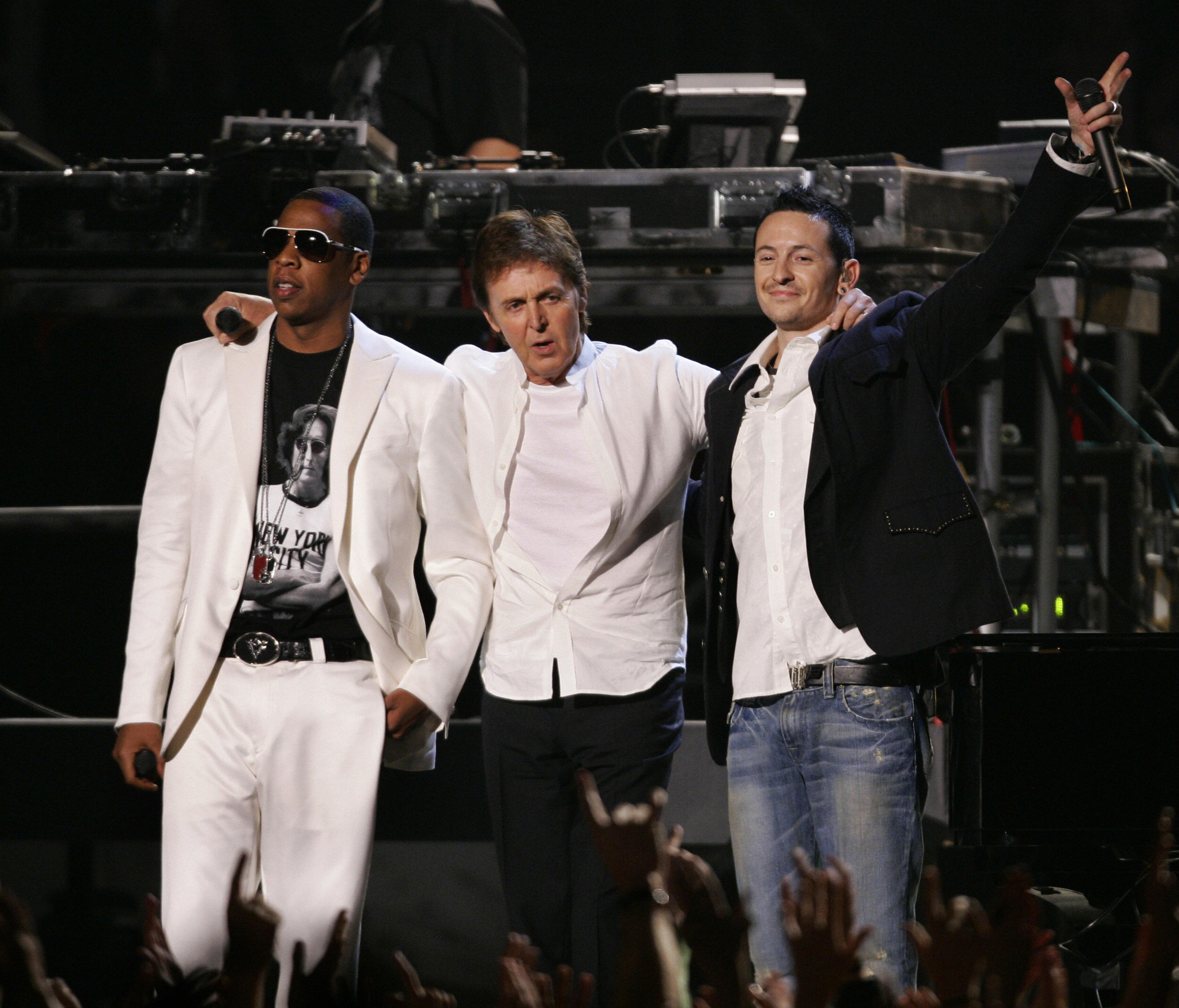 Paul McCartney Jay Z Linkin Park