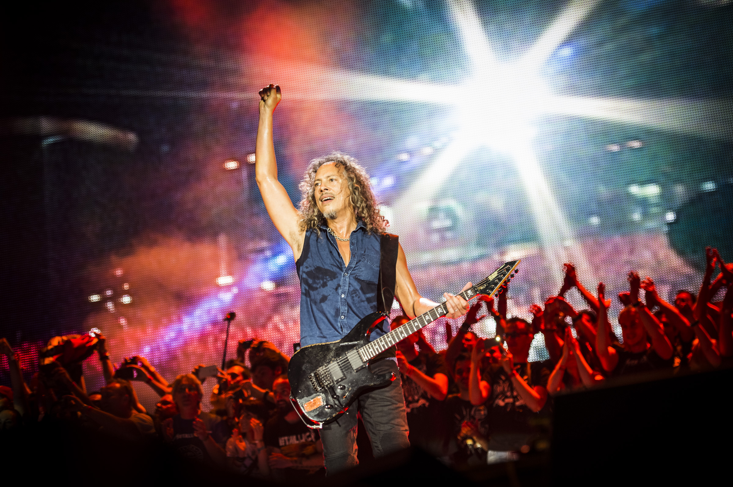 How Metallica's Kirk Hammett Is Redefining the Sound of Guitar