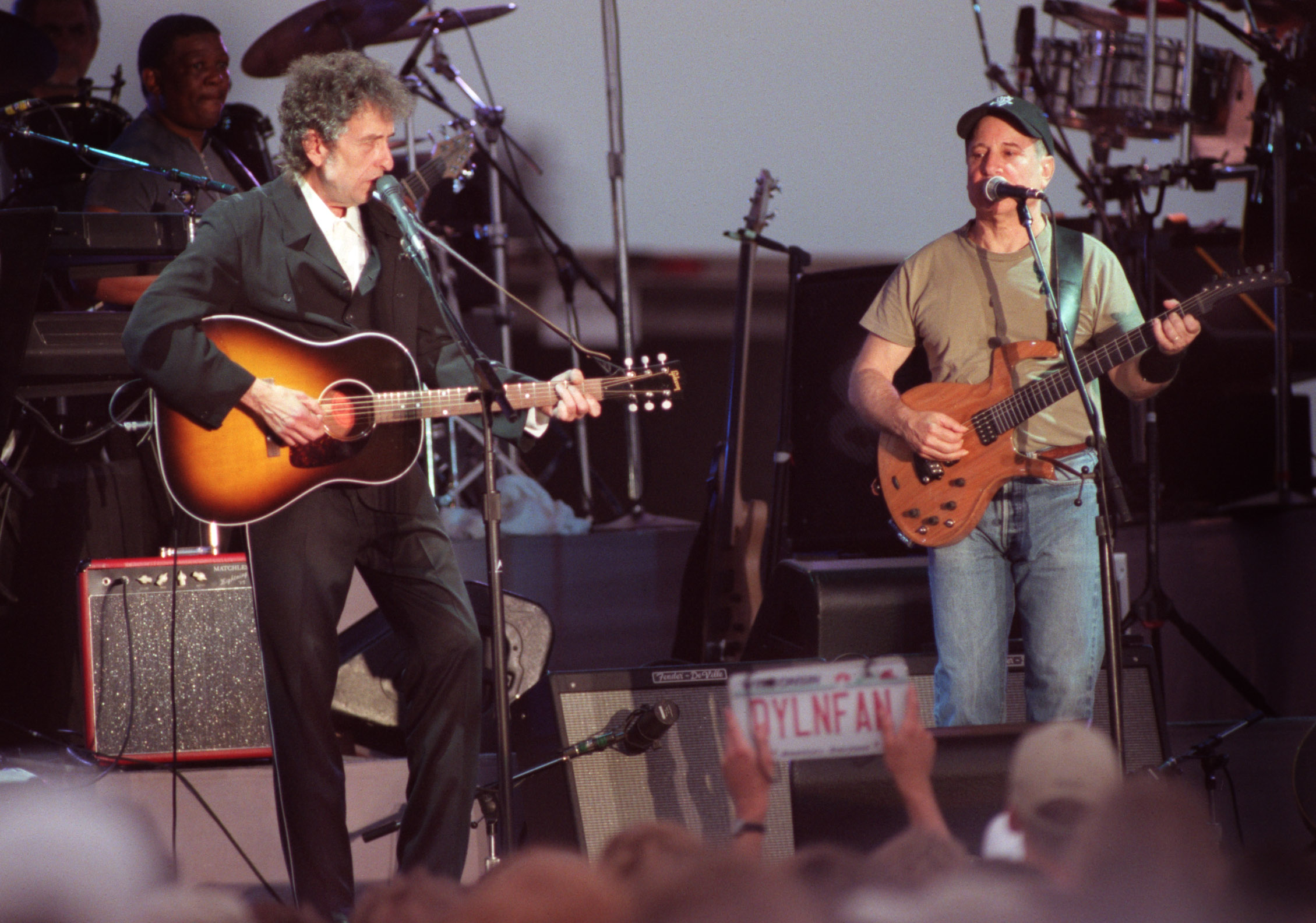 Flashback: Bob Dylan and Paul Simon Duet on 'The Sound of