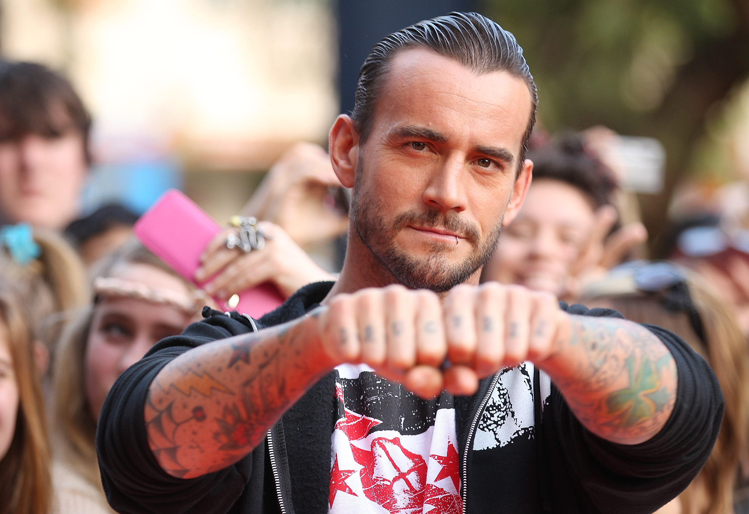 CM Punk to Have Back Surgery, UFC Confirms – Rolling Stone