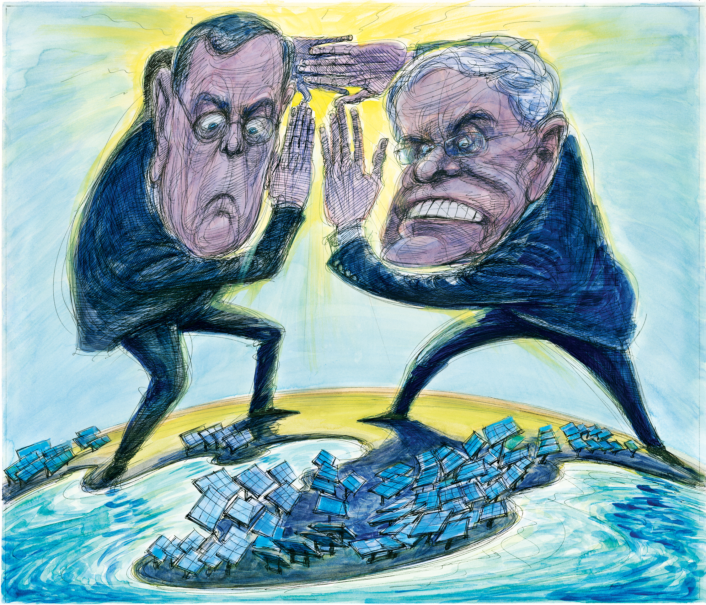 The Koch Brothers Dirty War On Solar Power Rolling Stone