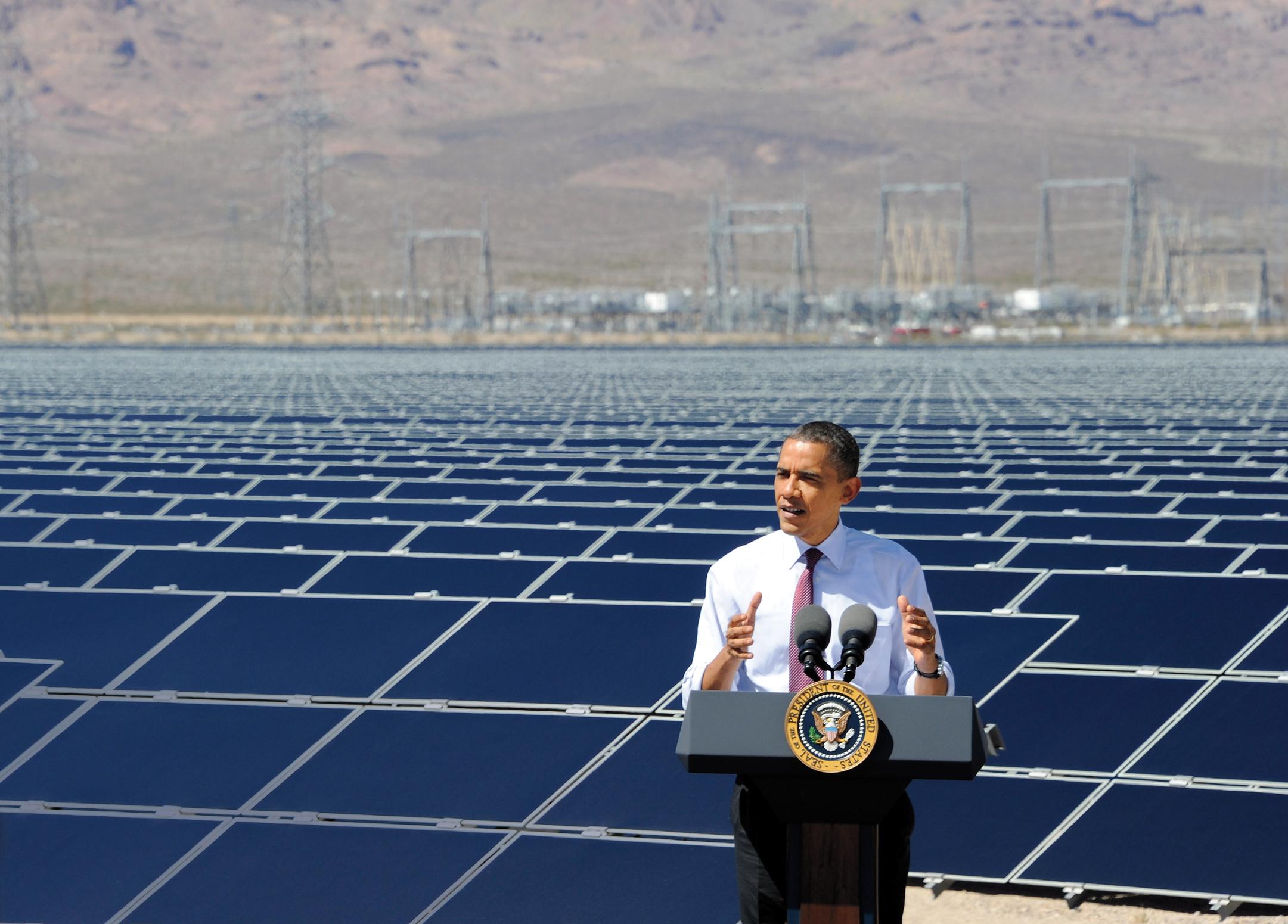 Obama; Solar Power