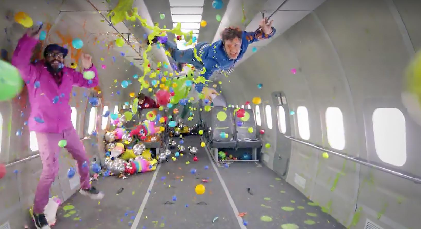 Watch OK Go Defy Gravity in 'Upside Down & Inside Out' Video