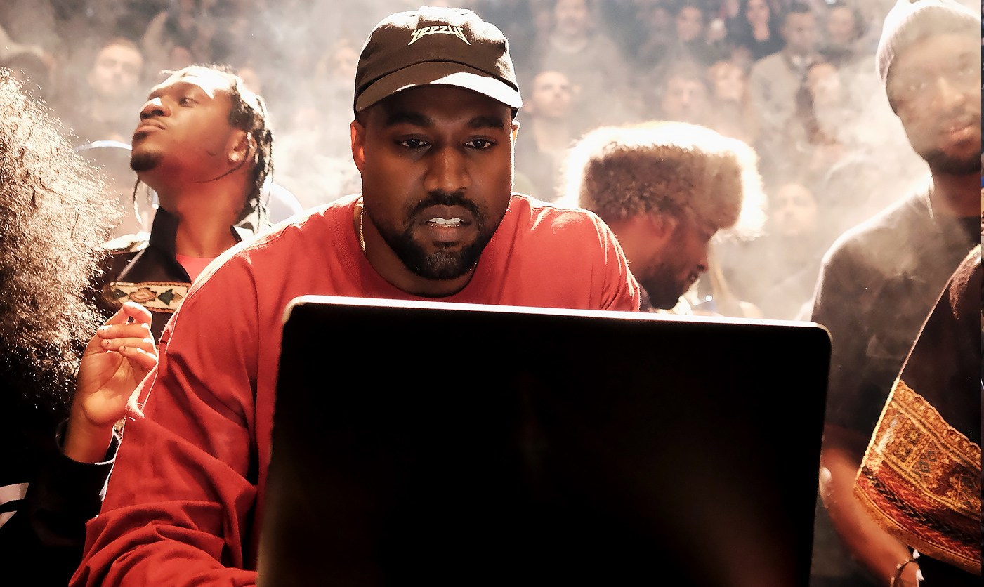 Superb Kanye West; Live Stream; MSG; New Album Photo Gallery