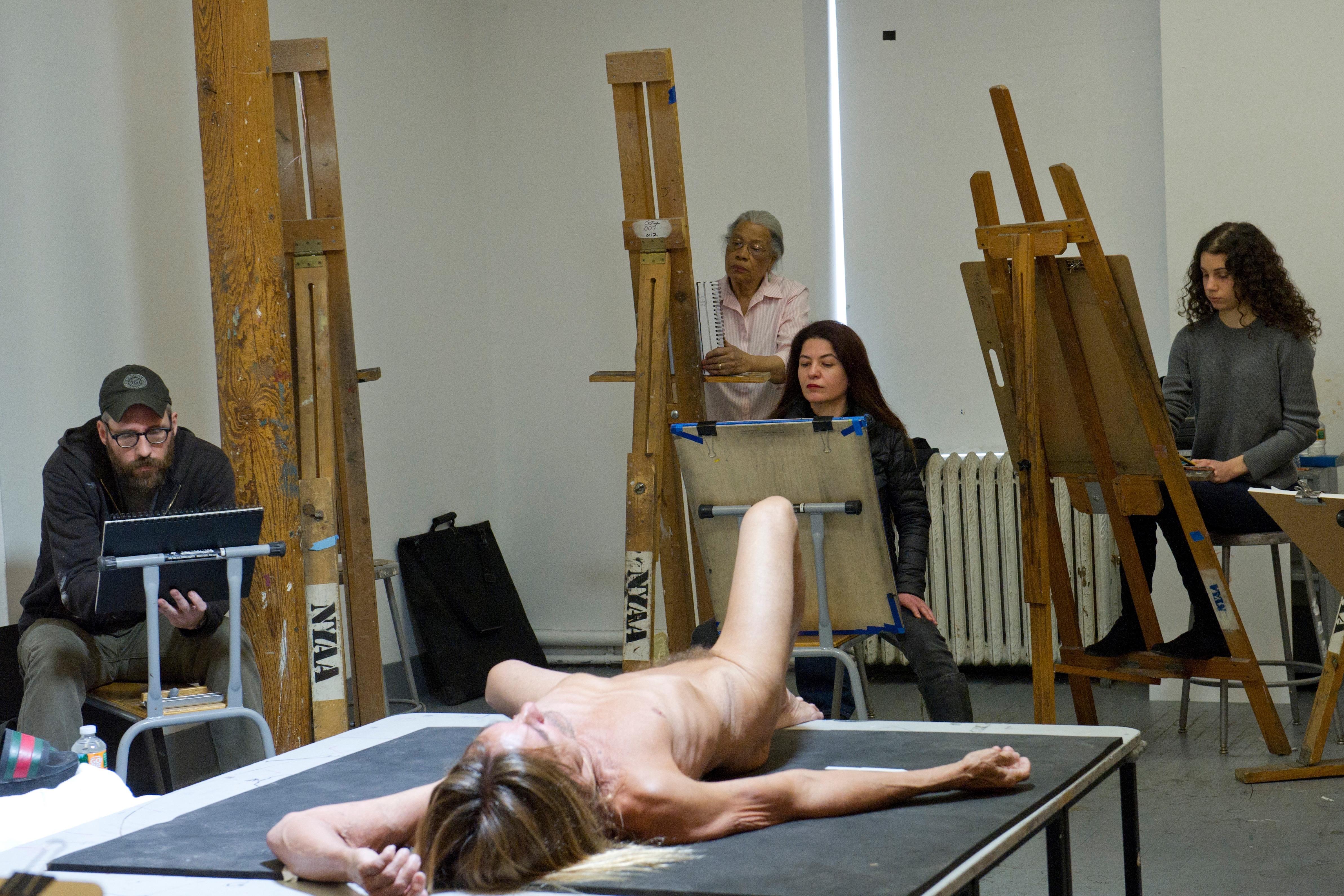 Art class nude stories