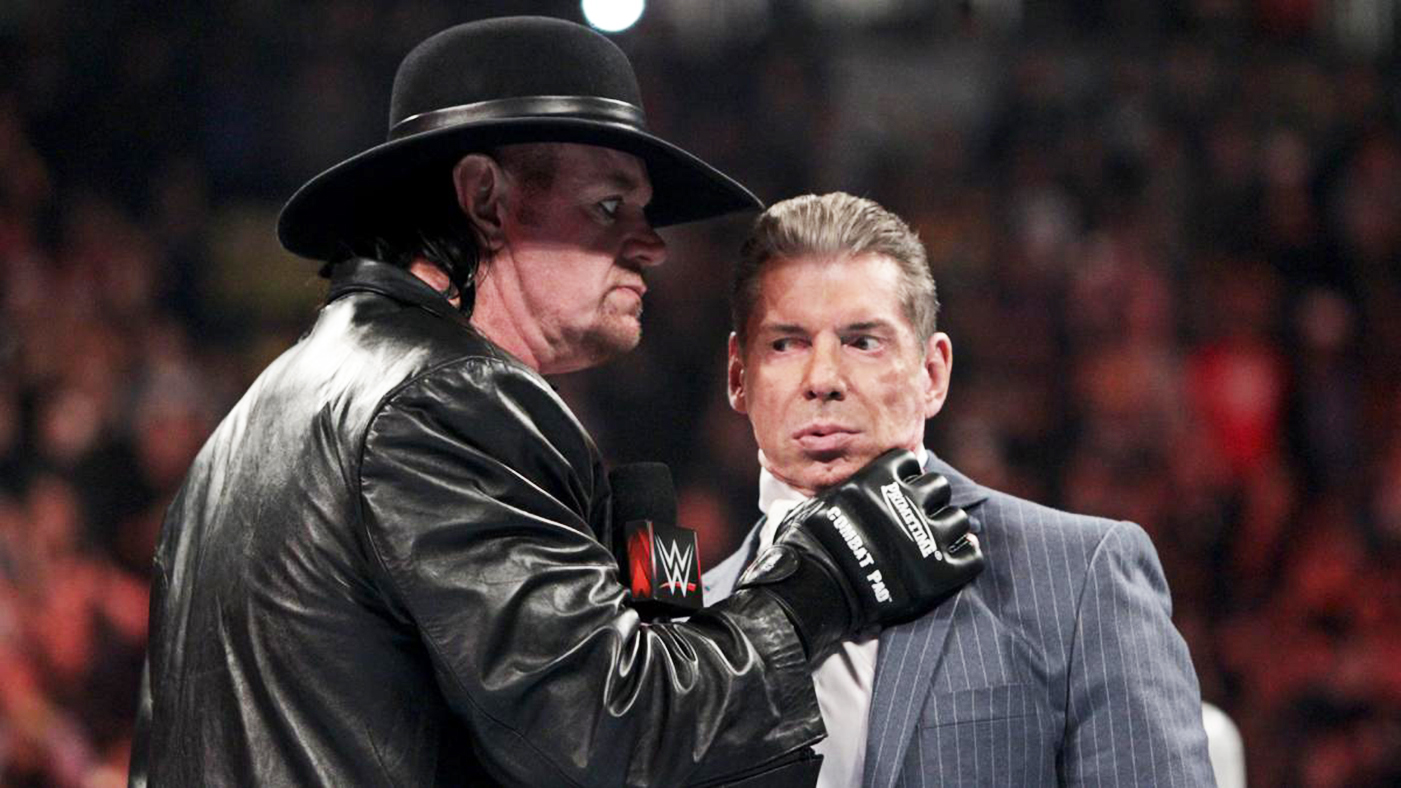 Image result for Vince McMahon Is Reportedly Upset With The Undertaker's Starrcast Appearance