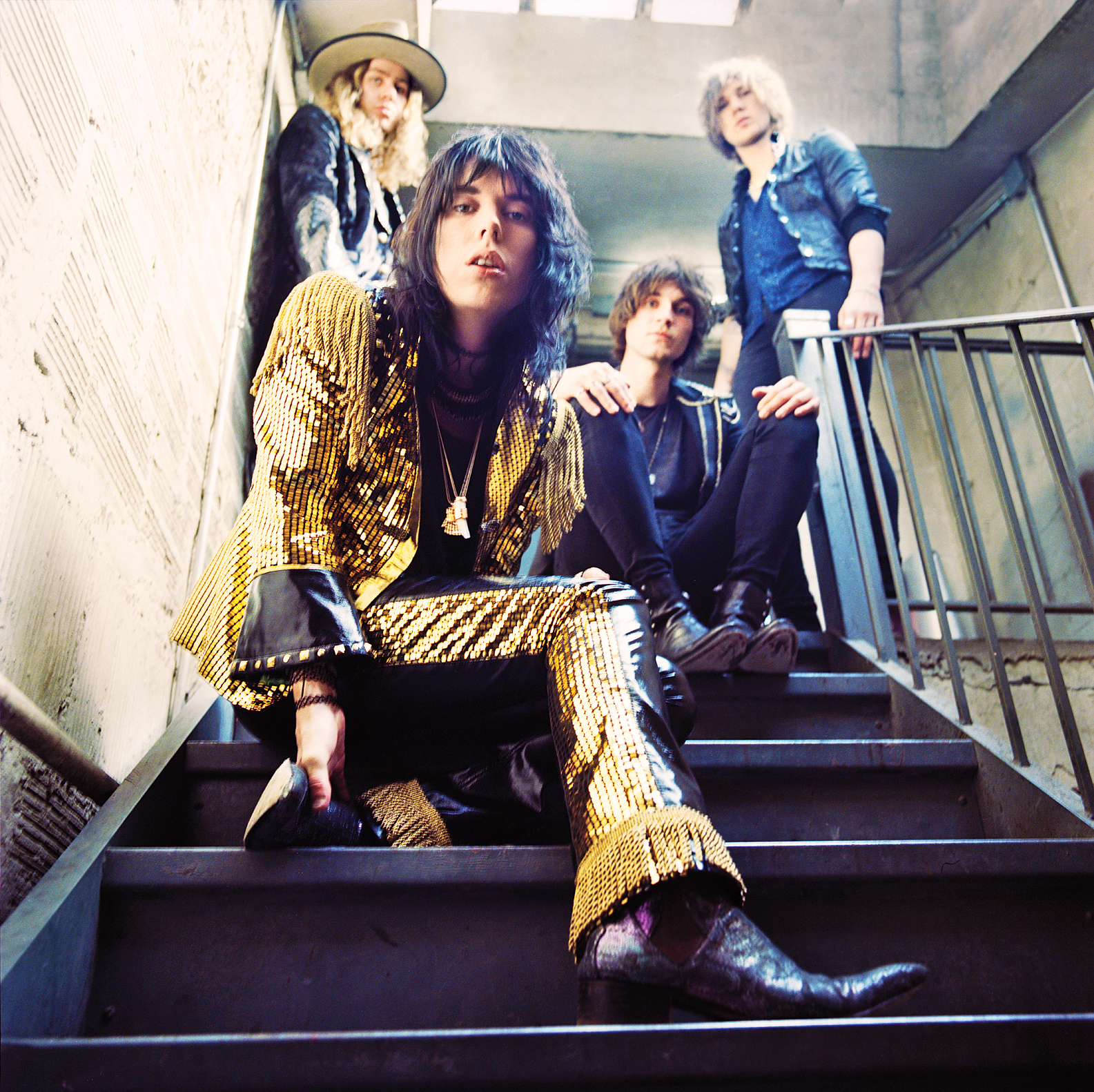 The struts meet englands newest glam rock heroes rolling stone m4hsunfo