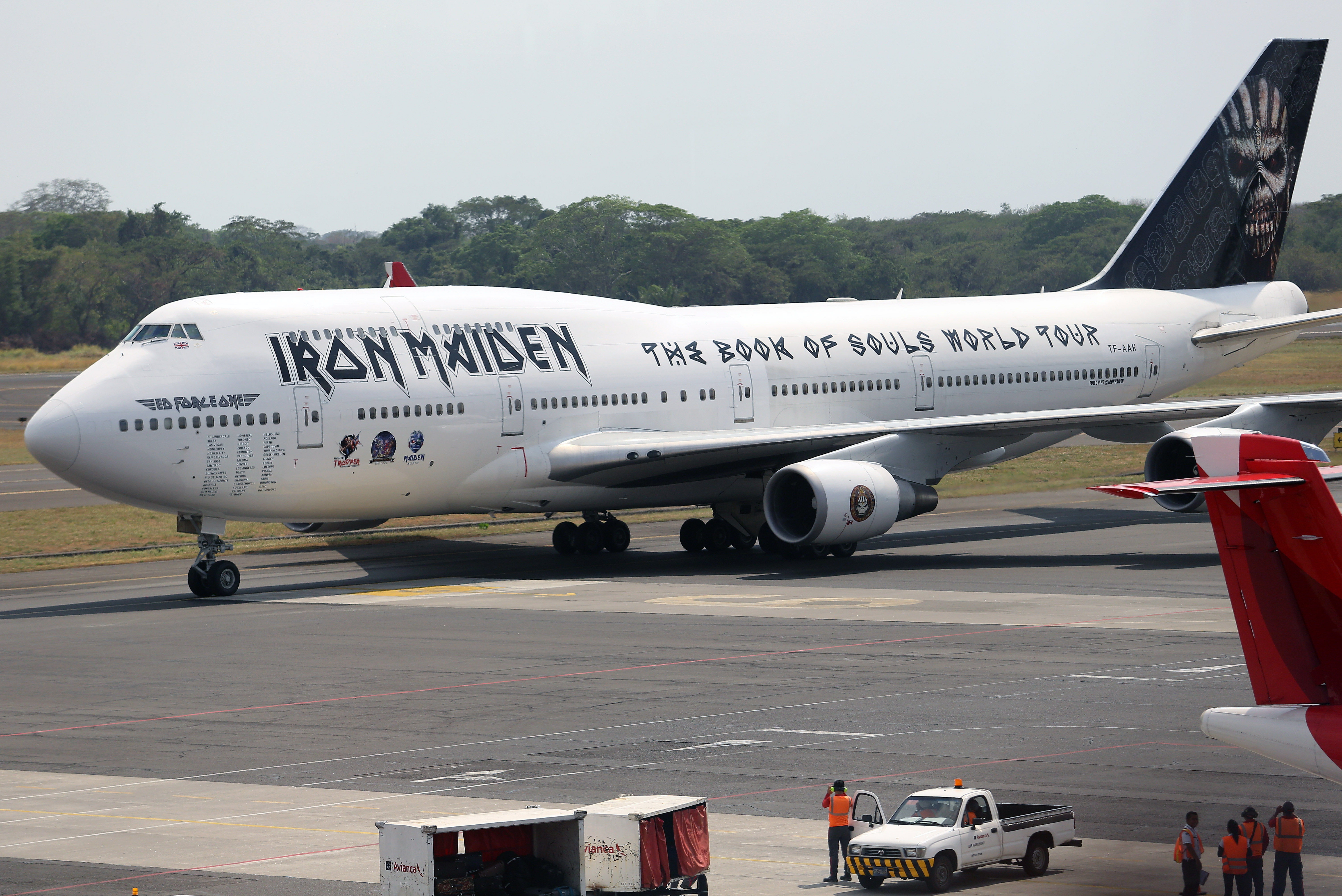 Iron Maiden's 'Ed Force One' Plane 'Badly Damaged' in Airport