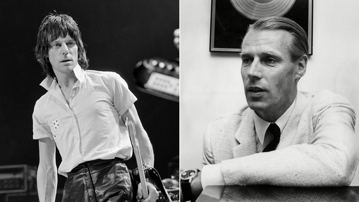Jeff Beck Remembers George Martin: 'He Gave Me a Career'