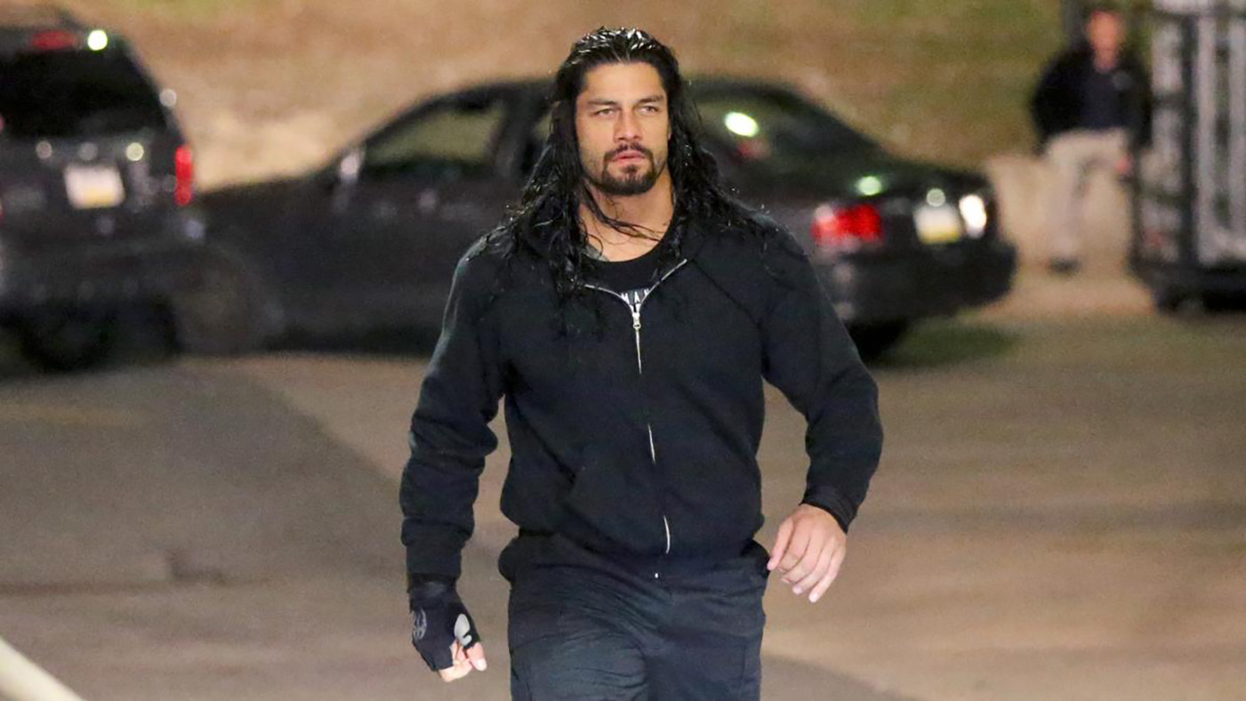 wwe raw roman reigns way or the highway rolling stone
