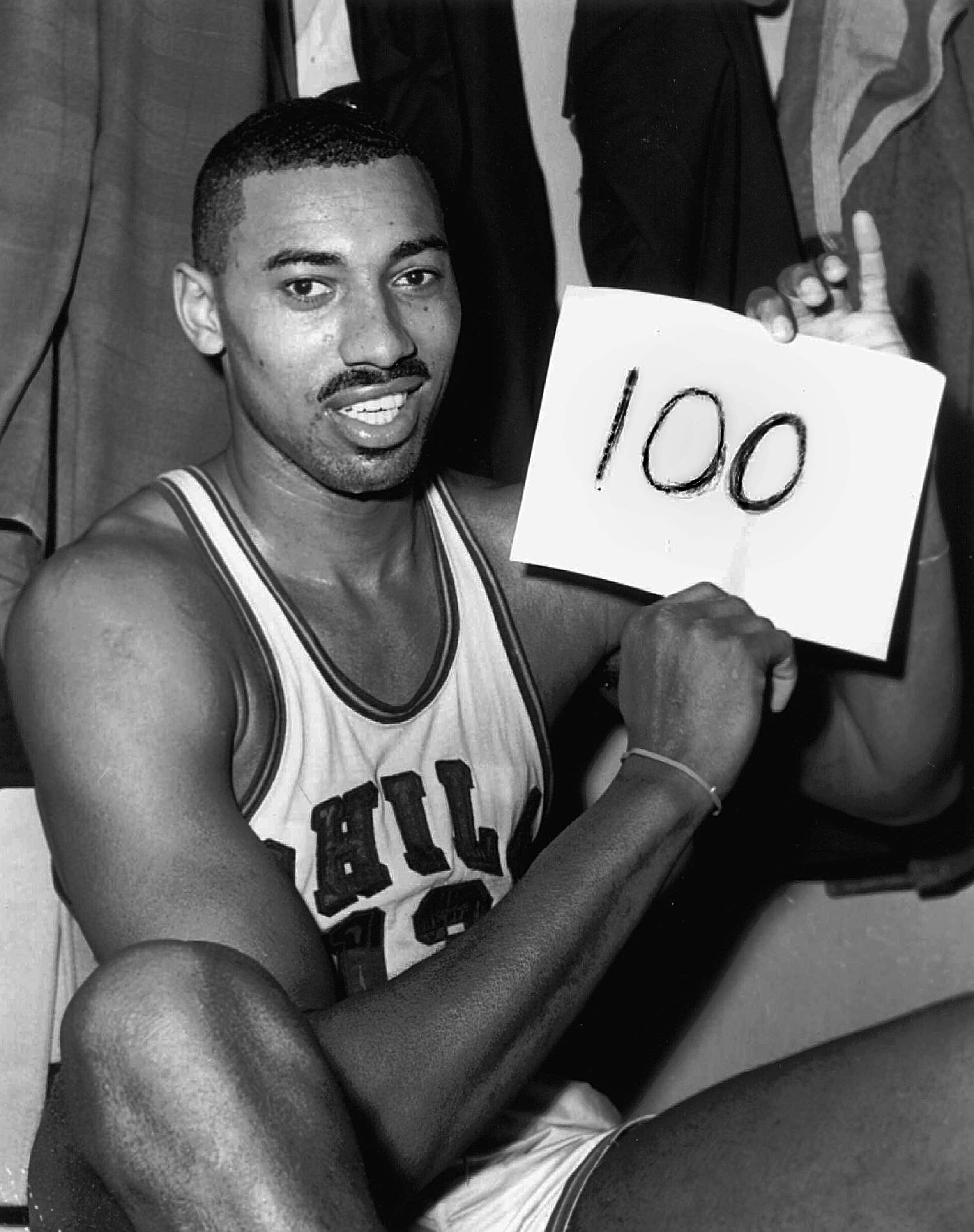 afdebae4ec76 Wilt Chamberlain s 100-Point Game Added to National Recording ...