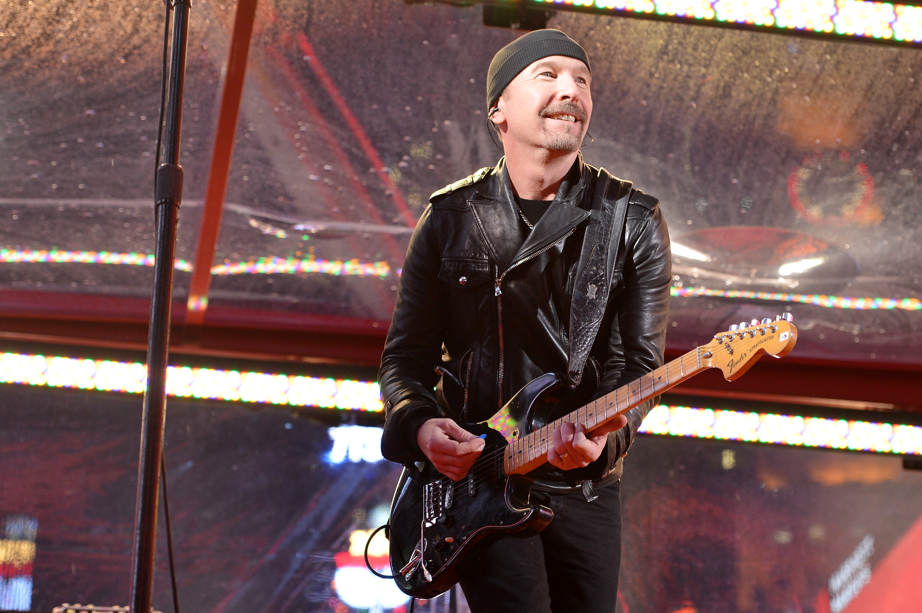 See U2's the Edge 'Geek Out' About New Custom Guitar