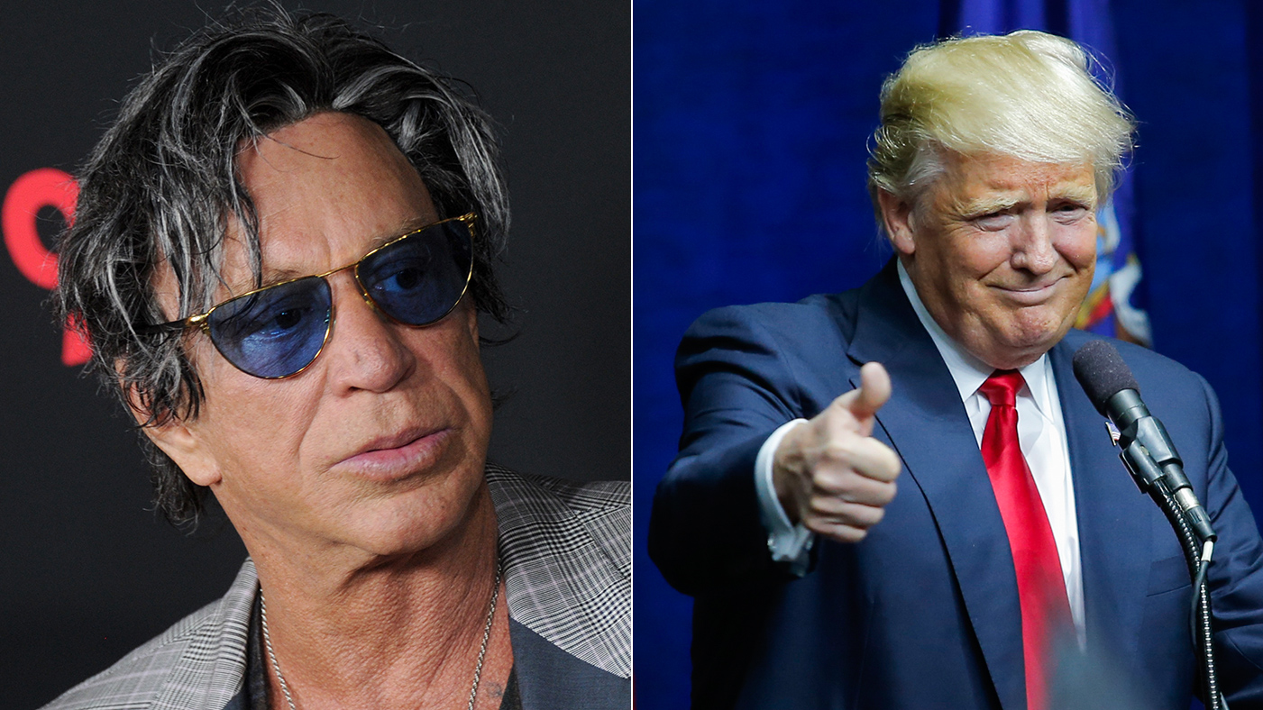 Mickey Rourke Rips Don...