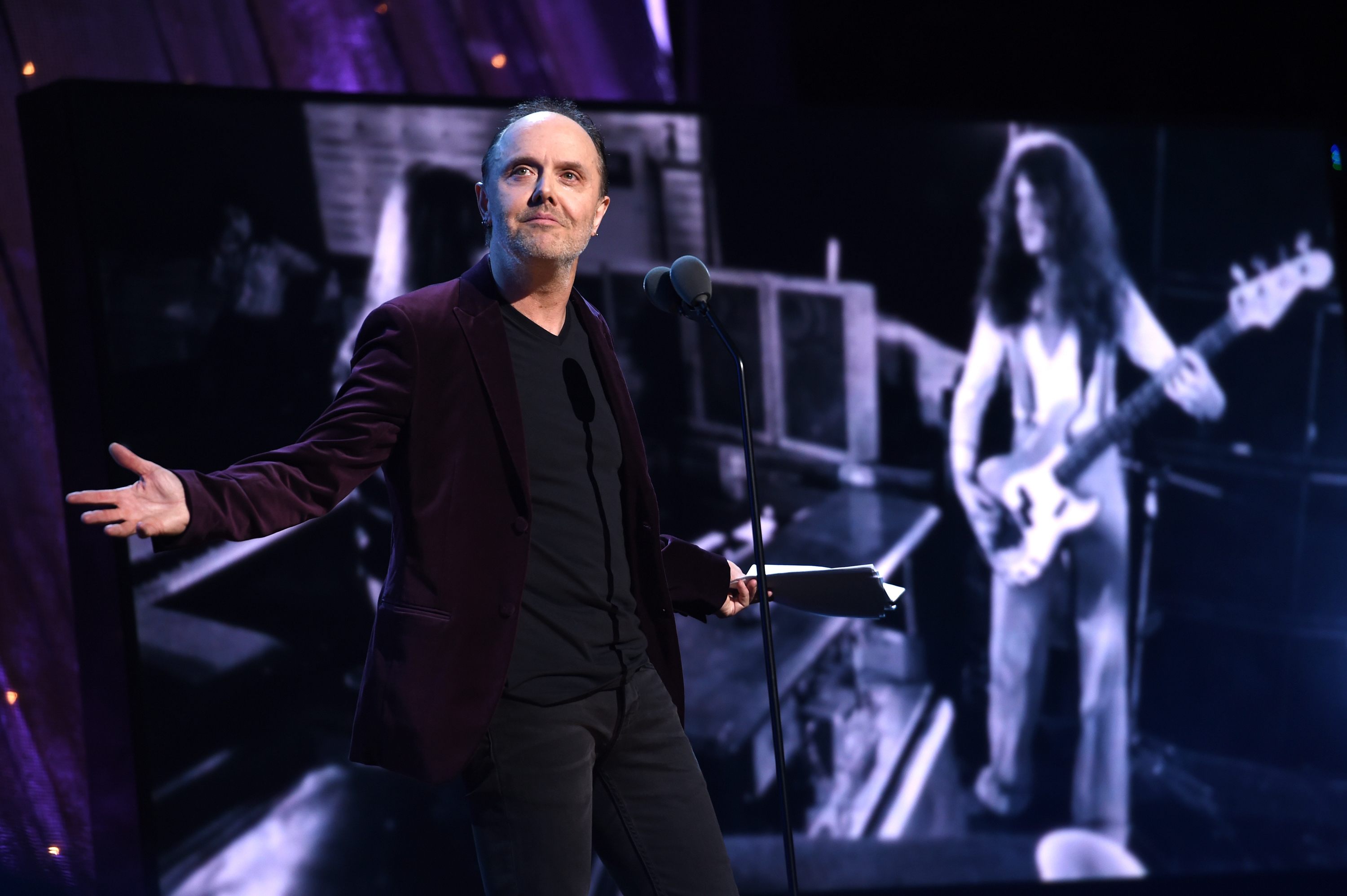 Read Lars Ulrich's Passionate Deep Purple Rock Hall Induction