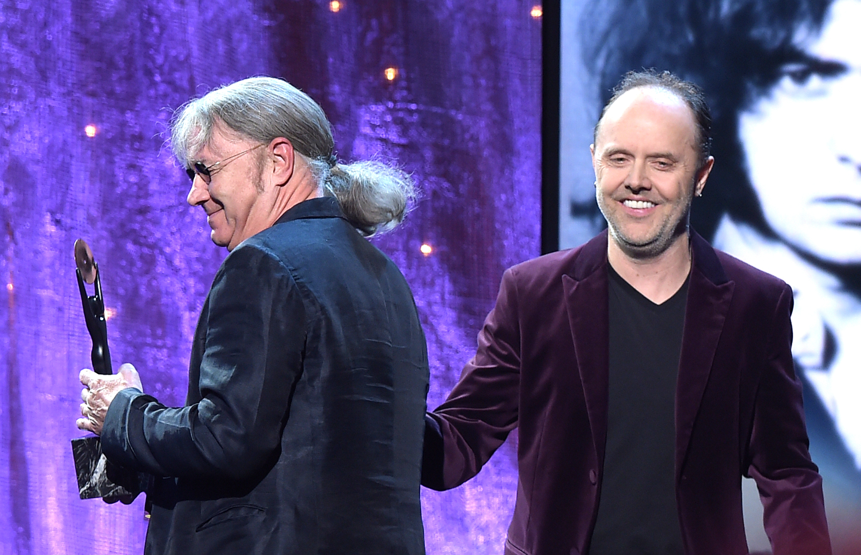 Lars Ulrich Talks Inducting Deep Purple in Hall of Fame