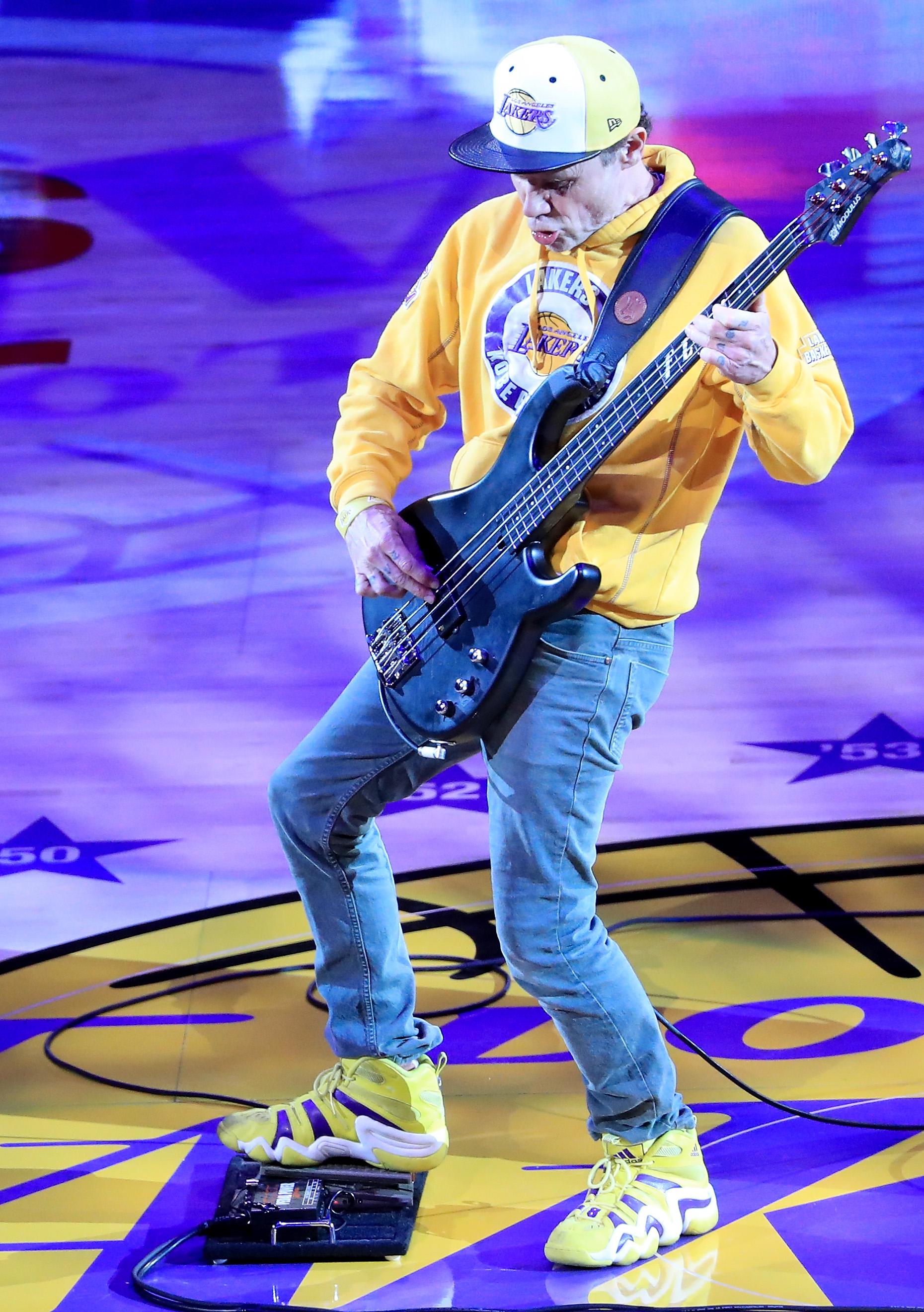 Flea on National Anthem Criticism: 'I Don't Care, Man'