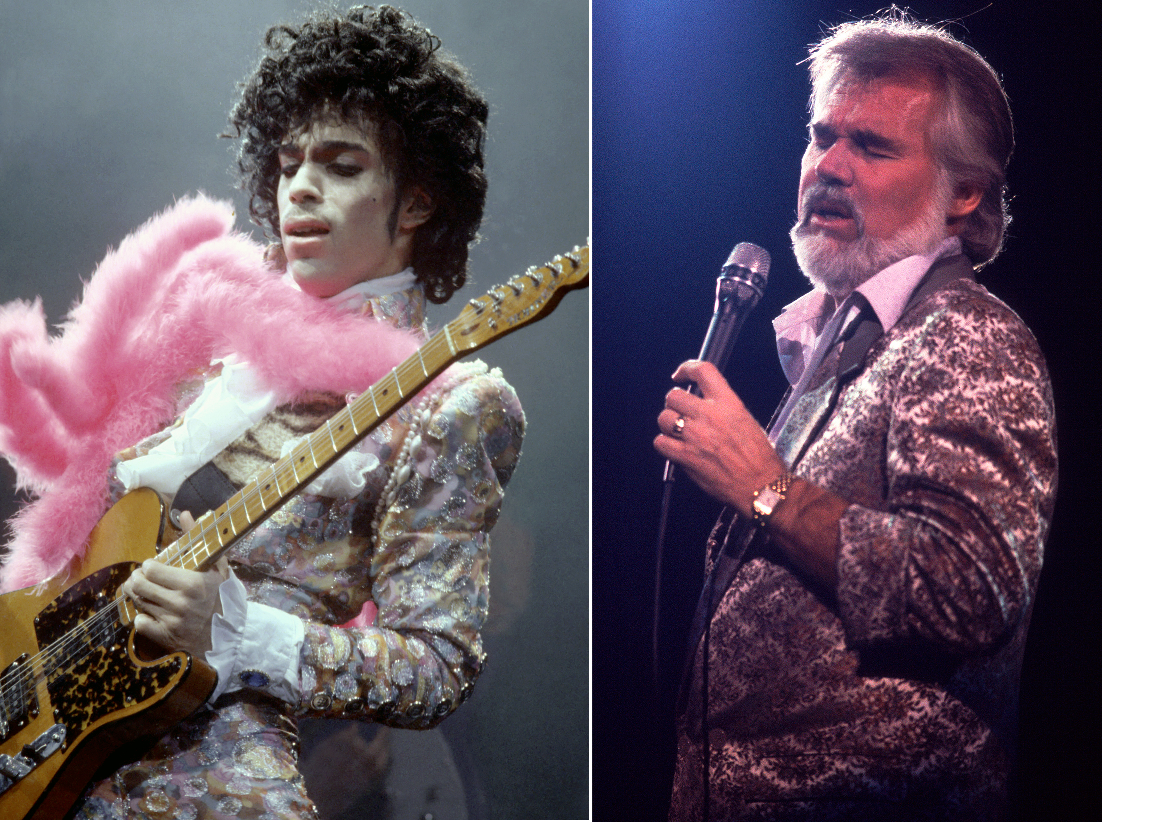 Hear the Song Prince Secretly Wrote for Kenny Rogers