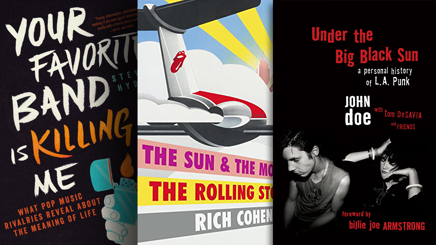 3 Great Rock Books to Read This Month
