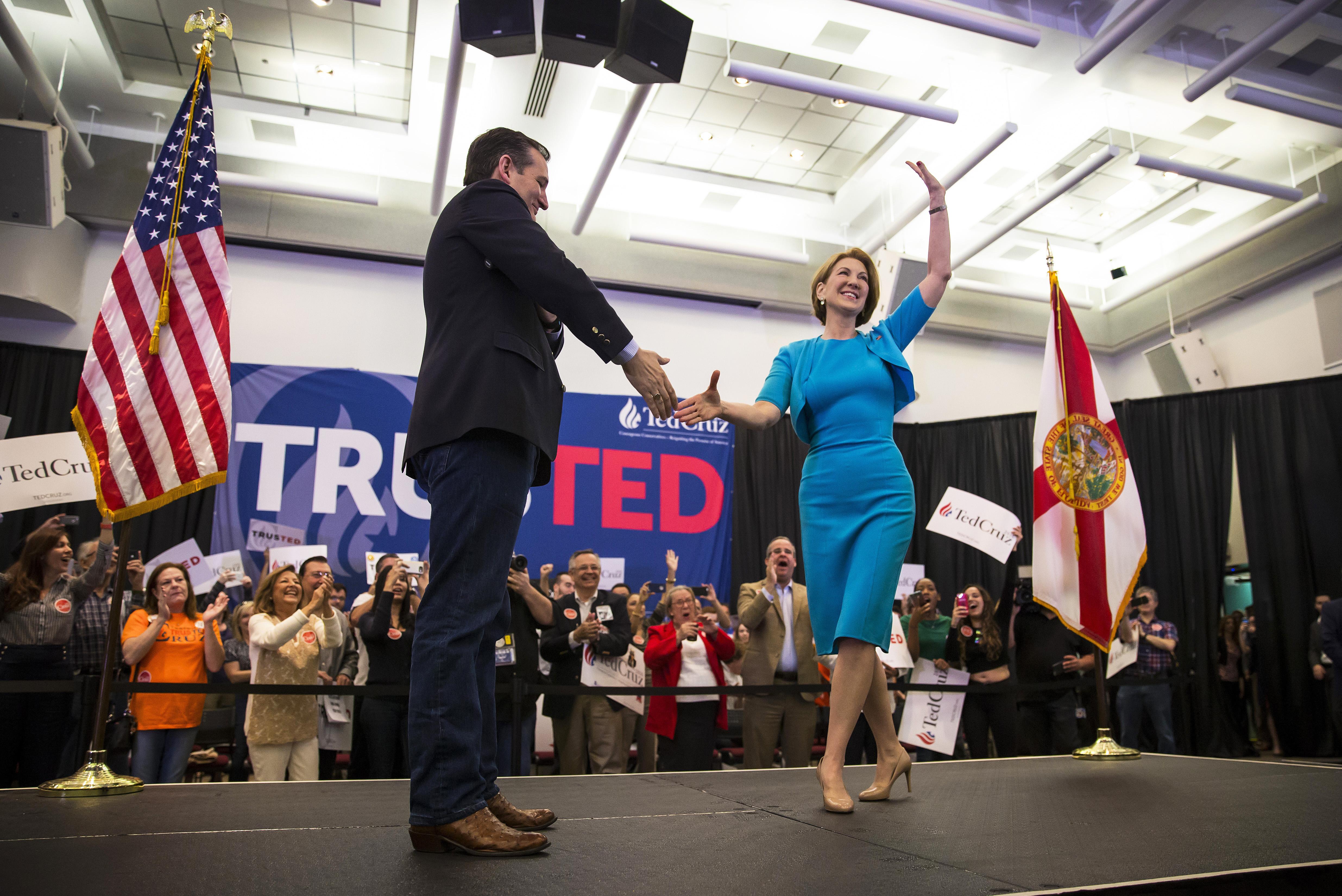 Carly Fiorina: The Anti-Woman Woman Ted Cruz Doesn't Need
